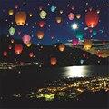 10 pcs Balões SKY KongMing Desejando Lanternas Voadoras Luz do Dia Das Bruxas Dia Das Bruxas TY0109 Pipa Chinesa Lanterna Balão de Ar