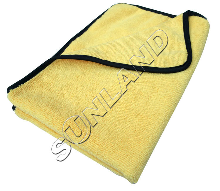 Plush Microfiber Two Different Sides Car Care Towel Auto Cleaning Detailing Waxing Polishing Cloths 20 PCS 360gsm 40cmx60cm