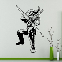 Princess Zelda Archer Wall Stickers Video Game Vinyl Sticker Legend Of Zelda Kids Children Room Idea