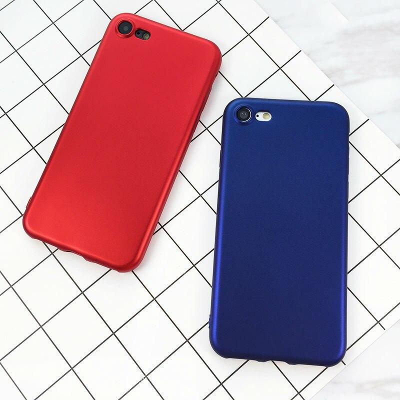 Teléfono case para iphone 5 5s se 6 6 lovecom s 7 plus lujo Chino Rojo de Charol
