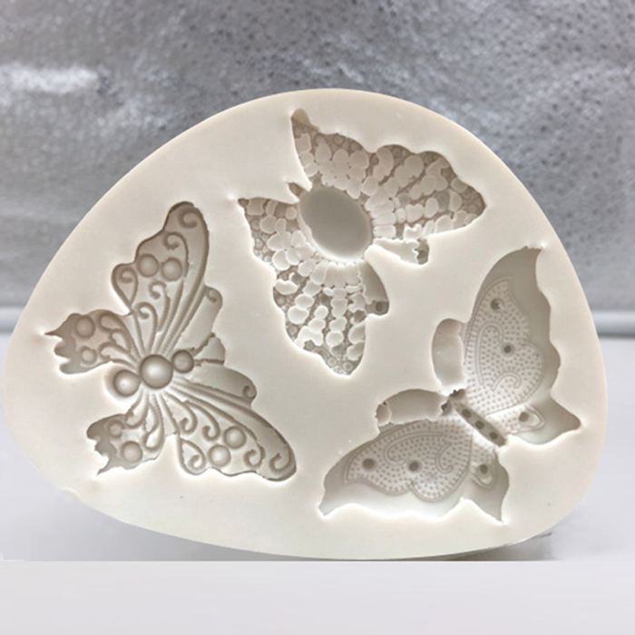 Butterfly Shaped Fondant Silicone Cake Mold Soap Mould Bakeware  Sugar Cookie Jelly Pudding Decor Baking Cooking Tools(China)