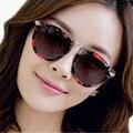 Metal polarizó ocio y turismo gafas de sol hombres mujeres famosas de la marca moda Retro gafas de sol para hombre UV400 gafas oscuras