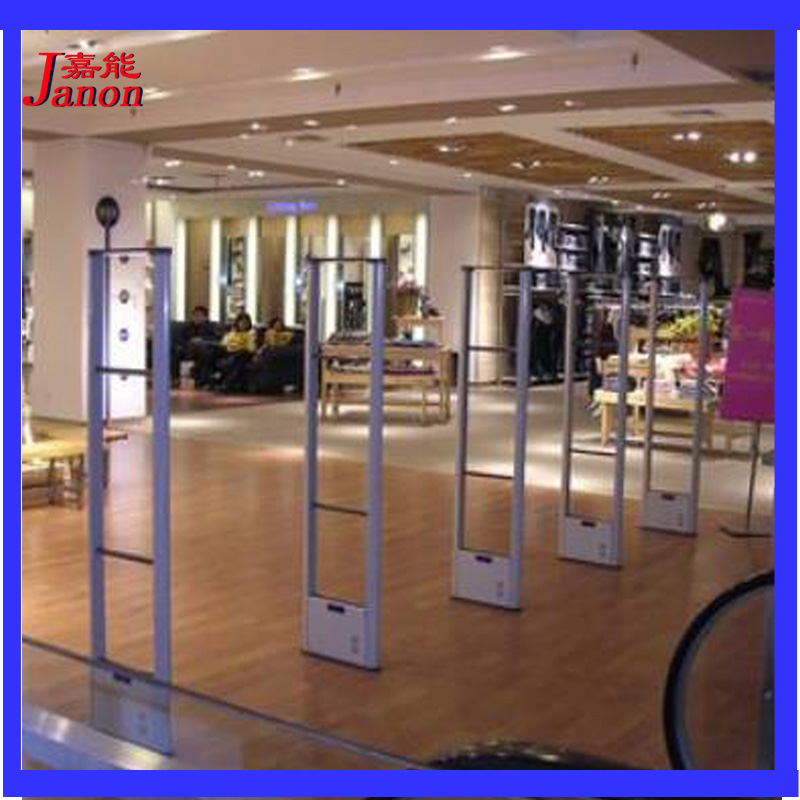Janon eas retail anti theft system supermarket anti shoplifting prevention security door