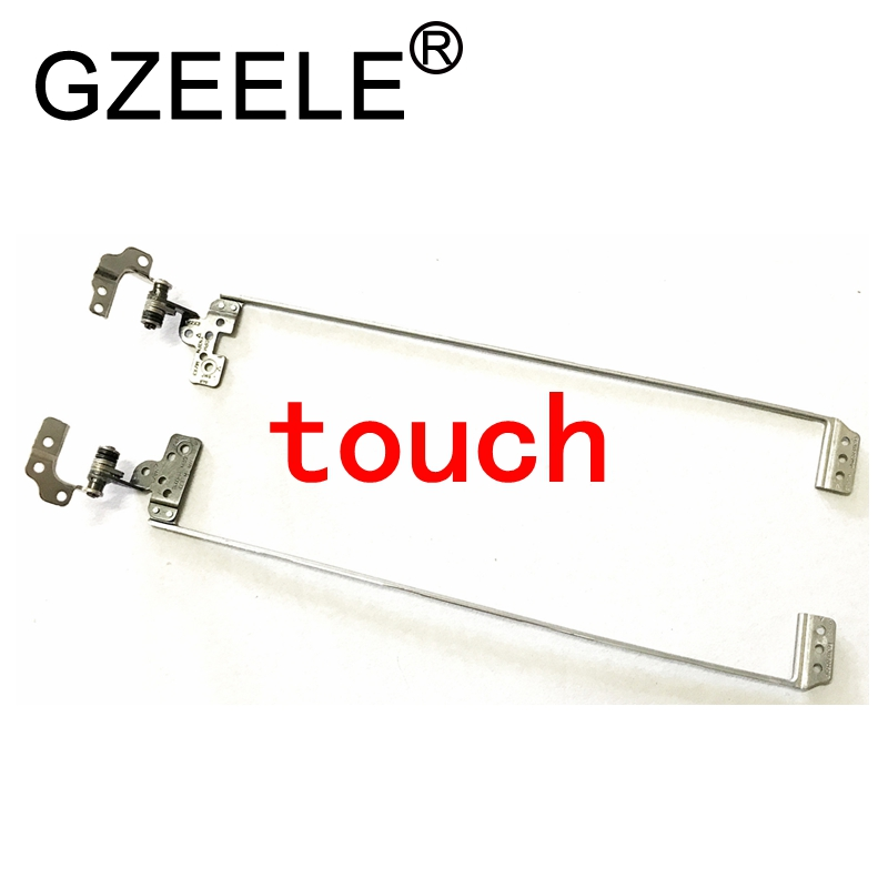 GZEELE New LCD Hinge For DELL VOSTRO 5460 V5460 5470 V5470 5480 V5480 For Touch Screen Hinges FBJW8026010 FBJW8027010