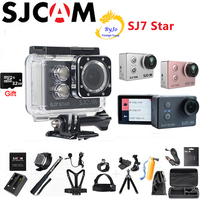 Оригинальный SJCAM SJ7 Star 4 К Спорт Камера Ambarella A12S75 DV HD 2 Сенсорный экран WI FI удаленного Водонепроницаемая камера 30 м 32 г SD карты подарок