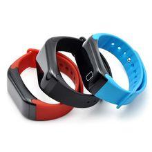 Крови Давление сердечного ритма Сенсор Смарт часы Bluetooth здоровья браслет Интеллектуальный
