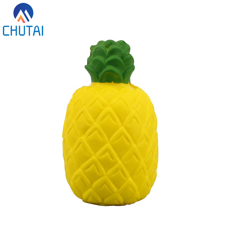 Jumbo Squishy Toy Soft PU Slow Rising Stretchy Squeeze Kawaii Fruit Pineapple Pressure Reliever Kids Toys Xmas Gifts 12*6.5CM