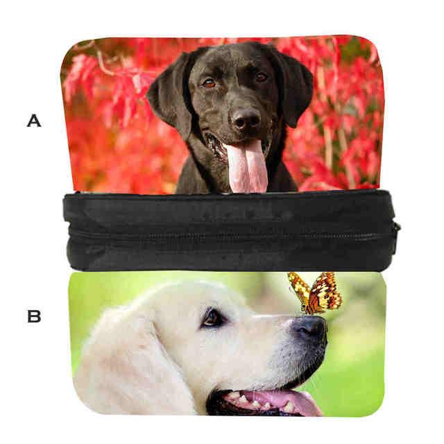 Bambino Bulldog Pastore Husky Stampa Labrador Borse Cane Casuale Personalizzati Uomo Animale Pencilbag Caso Tedesco Donna nwq0xY681