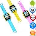 3 Г Android Smart Watch JM08 SOS Экстренного Вызова Расположение Локатор GPS трекер Kid Safe Монитор Wi-Fi Для Детей Девочка часы