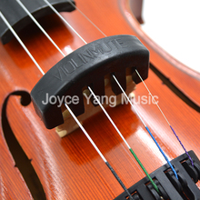 Violin Mute Rubber Black Silencer 5 for 1/2 3/4 2pcs Claws Quiet