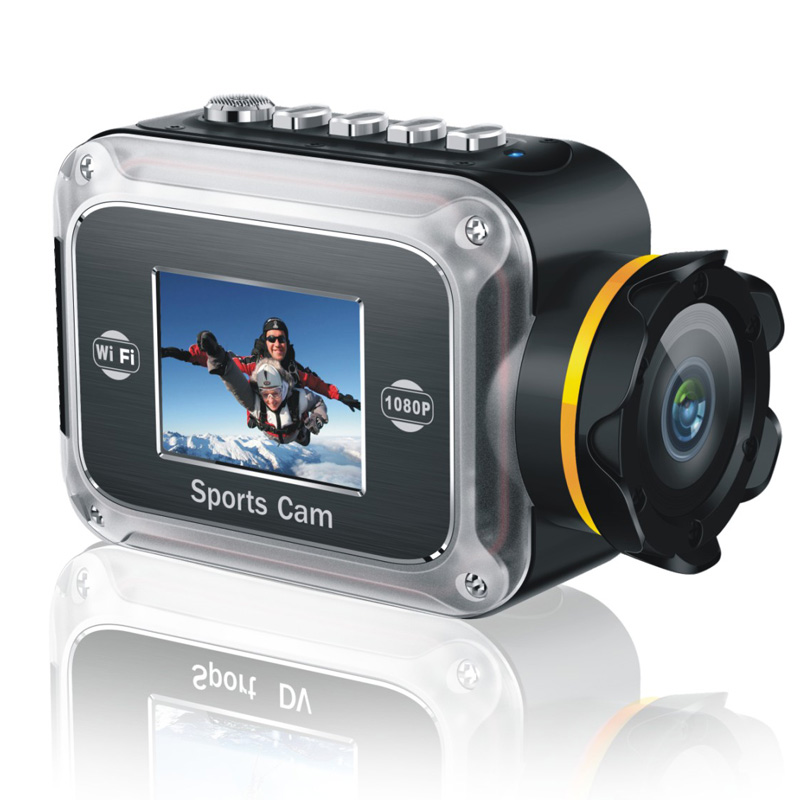 FULL HD1080P Wifi action camera with 2 0 TFT digital sports video camera