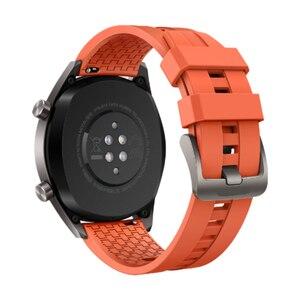Image 5 - FIFATA 22/20mm Smart Uhr Band Für Huawei Uhr GT/GT2 Strap Silikon Bands Sport Armband Für ehre Uhr Magie Handgelenk Riemen