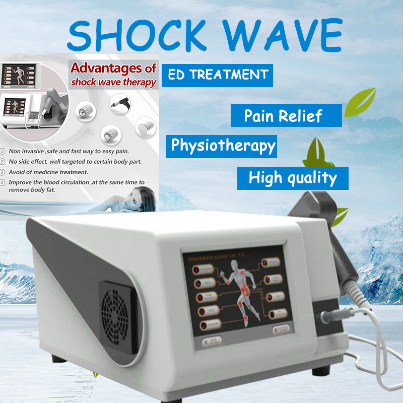 Best Result Hot Sale Portable Shockwave Therapy Machine For High Pressure Max To 6 Bar  Shock Wave Physiotherapy Machine