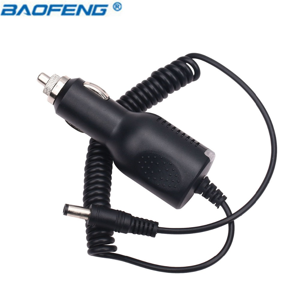 Lovely Baofeng Uv-5r Car Charger Cable Line 12-24v Input 10v Output For Pofung A-52 Ii Portable Radio Bf-f8hp Uv-82 Gt-3 Walkie Talkie