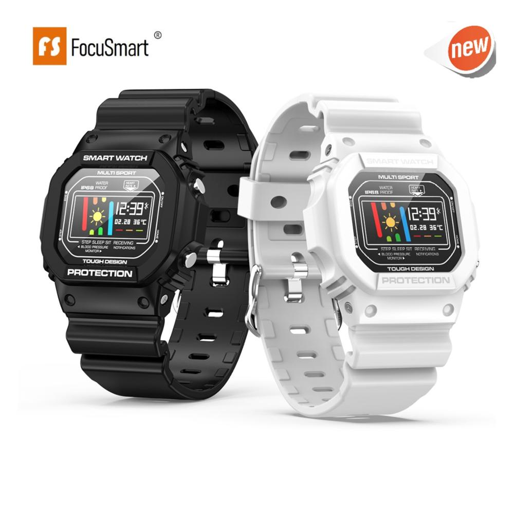 FocuSmart <font><b>X12</b></font> Smart Watch Men 0.96 Inch IP68 Waterproof Sport <font><b>Smartwatch</b></font> Activity Tracker Passometer Smart Watch for IOS Andriod image