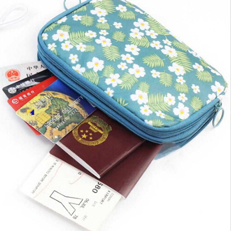 Blume Gedruckt Reise Digital Speicher Tasche Tragbaren Digitalen Usb Kabel Ladegerät Kopfhörer Kosmetische Pouch Lagerung Veranstalter Tasche Fall