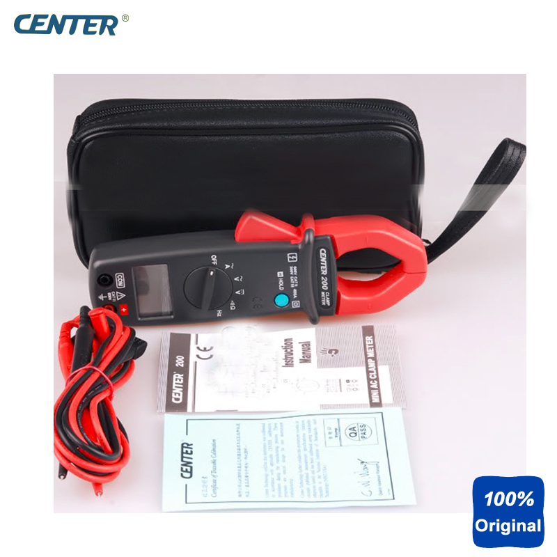 Mini Digital AC Clamp Meter CENTER200 видеокарта 2048mb msi r7 250 2gd3 oc pci e dvi hdmi dp hdcp retail