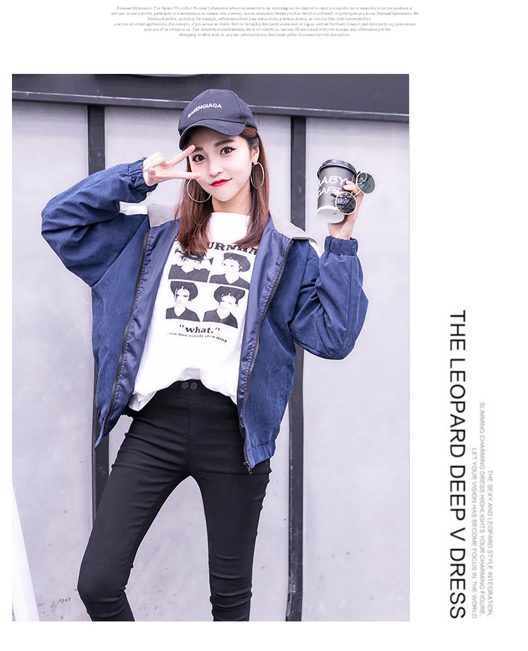 2019 Autumn Jacket Womens Streetwear Patchwork Hooded Totoro Jackets Kawaii Basic Coats harajuku Outerwear chaqueta mujer 60