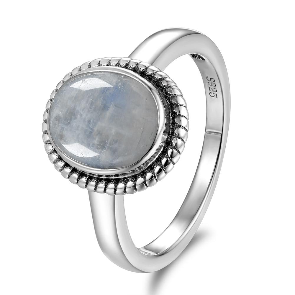 Bague fiancaille pierre de lune | oko oko
