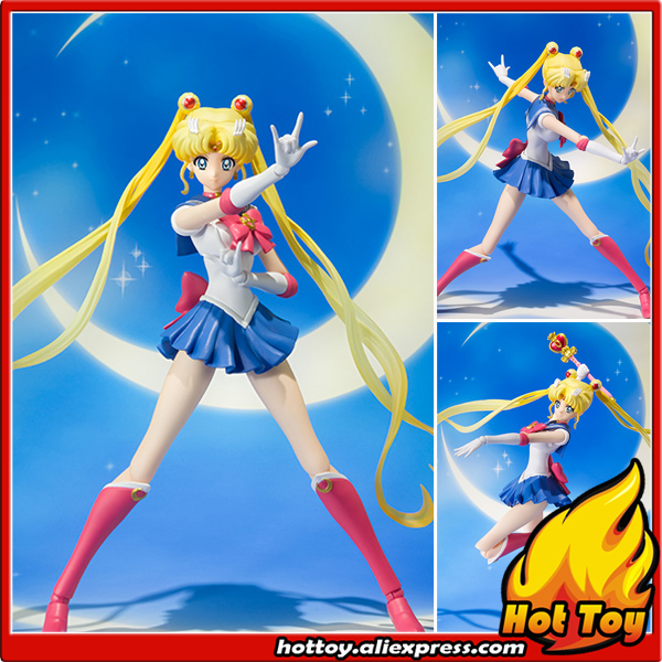 100% Original BANDAI Tamashii Nations S.H.Figuarts (SHF) Action Figure - Sailor Moon from