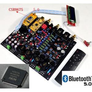 Image 5 - CSR8675 Bluetooth 5.0 AK4497EQ*2 AK4118 DAC decoder support APTX HD DSD Coaxial fiber USB Bluetooth Input