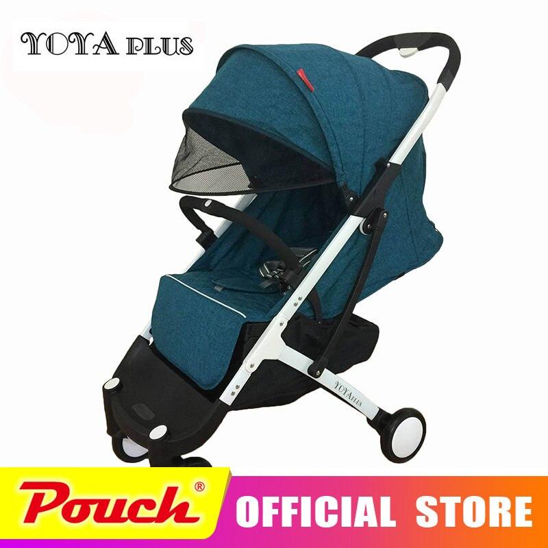YOYAPLUS bébé poussette ultra-léger pliage peut s'asseoir peut mentir haute paysage YOYA plus bébé poussettes