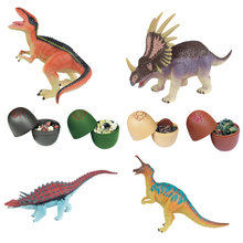 4pcs 3d Dinosaur Wild Polar Life Animals Puzzles In Easter Egg Assembly Educational