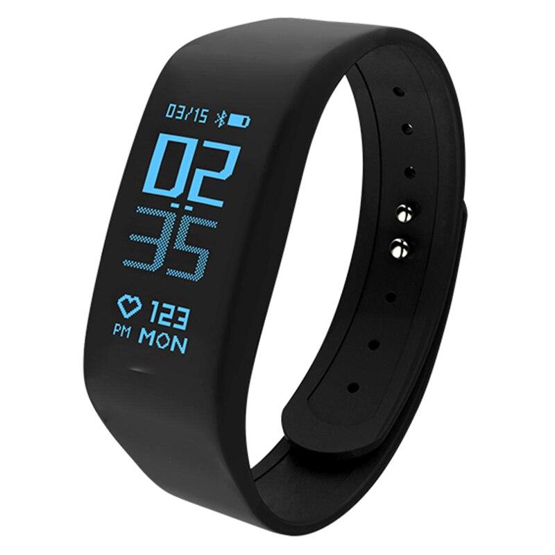 B5 Bracelet de Fitness intelligent IP67 étanche bande intelligente moniteur de fréquence cardiaque Bracelet de santé électronique Smartband pour Android IOS
