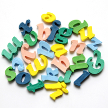 Nicole 26-Cavity Lowercase Letters Shapes Silicone Mold Fondant Cake Decorating Tools Design Mould