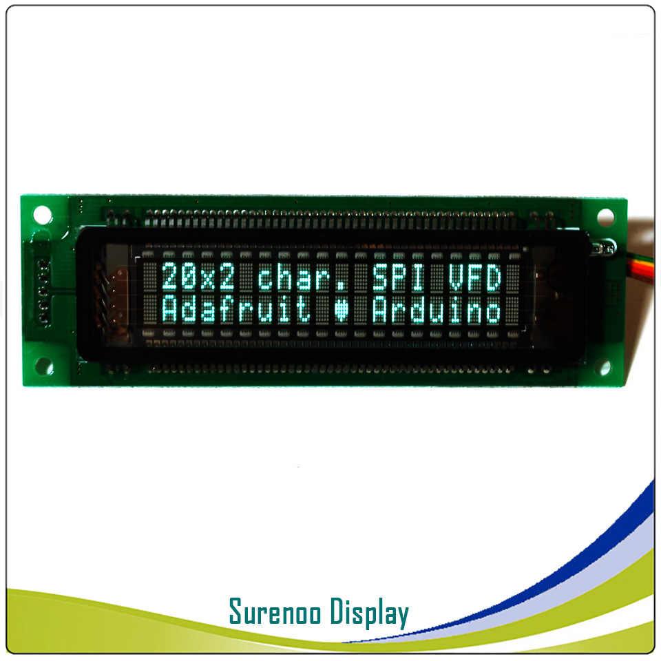 2002 202 20X2 المسلسل SPI VFD وحدة عرض LCD شاشة متوافق مع سامسونج 20T202DA2JA لاردوينو
