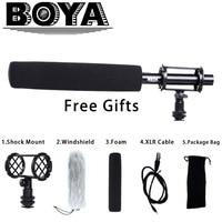 BOYA BY PVM1000L Pro Shotgun Video Mic Camera Microphone for Canon Nikon Sony Video Cameras & Camcorders