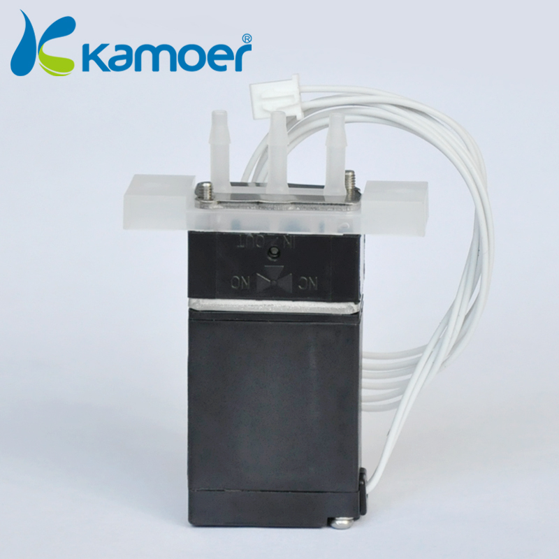 Kamoer Durable Magnetic Valve Electric Solenoid Valve for Water Air N/C 12V DC 2w 200 20 3 4 inch brass electric solenoid valve water air fuels n c dc 12v