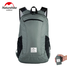 Naturehike 18L Tourist Backpack Waterproof Ultralight 120g Travel Bags 30D Nylon Silicon Outdoor Foldable Backpack Hiking Bag romix rh30 18l foldable polyester outdoor backpack bag