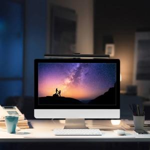 Image 3 - 1 Pc 5V Usb Led Dimbare Tafellamp Monitor Laptop Screen Zachte Verlichting Lichtbalk Oogbescherming Lezen Dimmer clip On Desk Lampen