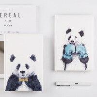 Nhật bản Dễ Thương Đáng Yêu Máy Tính Xách Tay Tạp Chí Đấm Bốc Panda Journal Diary Chương Trình Nghị Sự 2018 Kế Hoạch Mát Quà Tặng cho Trẻ Em Bullet Tạp Chí A5 HJW113