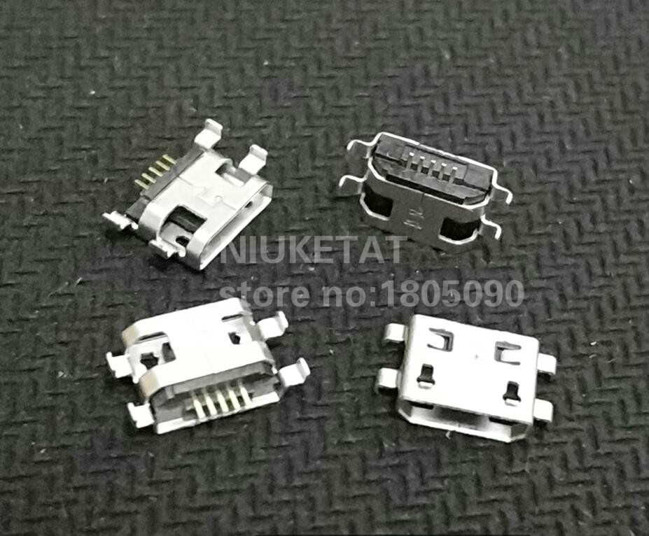 10Models 50pcs total Micro USB 5Pin jack tail sockect Micro Usb Connector port sockect for samsung Lenovo Huawei ZTE HTC etc