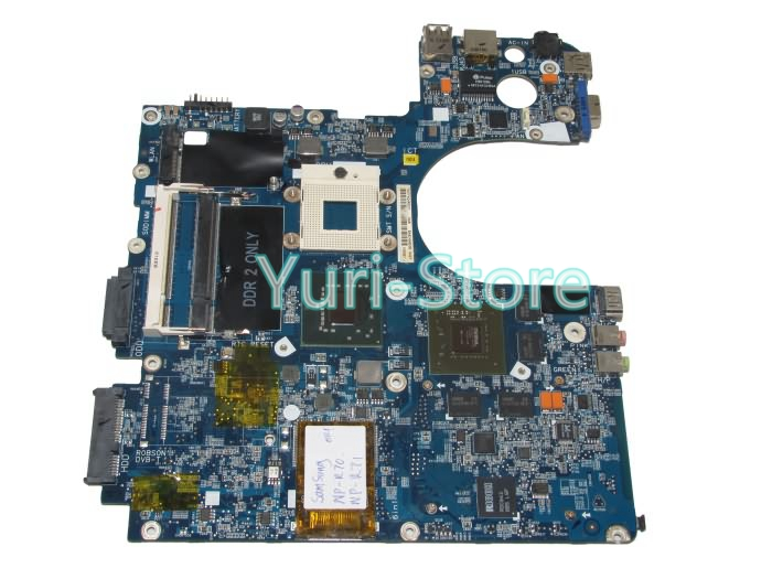 NOKOTION laptop motherboard BA92-04803A for samsung R70 np-r70 pm965 ddr2 ba92 05127a ba92 05127b laptop motherboard for samsung np r60 r60 ddr2 intel ati rs600me mainboard