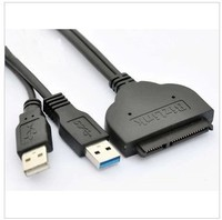 GOOD QUALITY USB 3 0 TO SATA HARD DISK DIVER ADAPTER WITH USB 2 O POWER