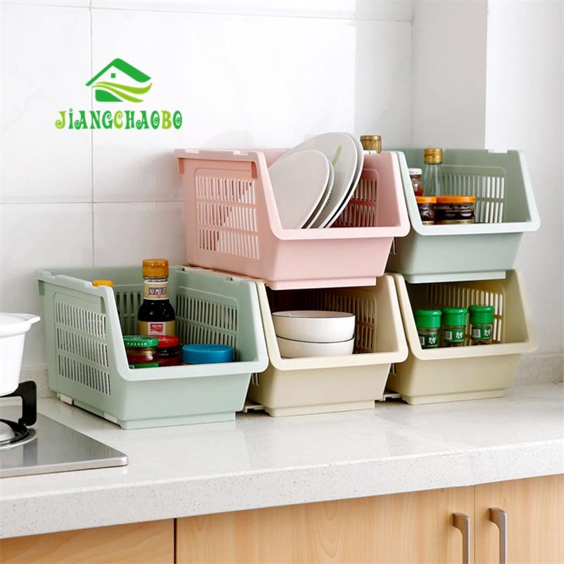JiangChaoBo Kitchen Utensils Vegetable Storage Baskets Baskets Plastic Drain Bowl Rack Shelf Shelf Seasoning Storage Rack Basket