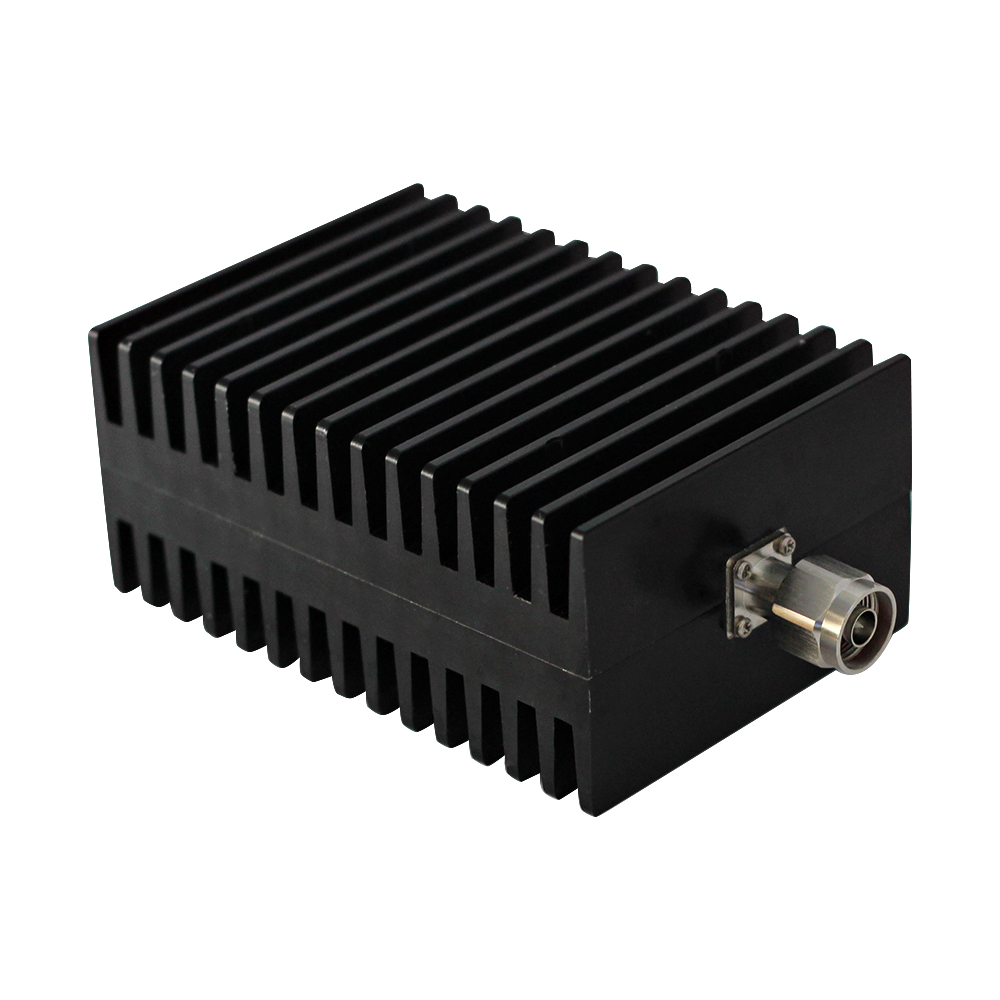 100W N-JK coaxial fixed attenuator,DC to 3GHz, DC to 4GHz ,50 ohm ,1dB,3dB,5dB,6dB,10dB,15dB,20dB,30dB,40dB,50dB,free shopping high power 100w watt n male to n female attenuator dc 3ghz 30db coaxial power with heat sink attenuator free shipping