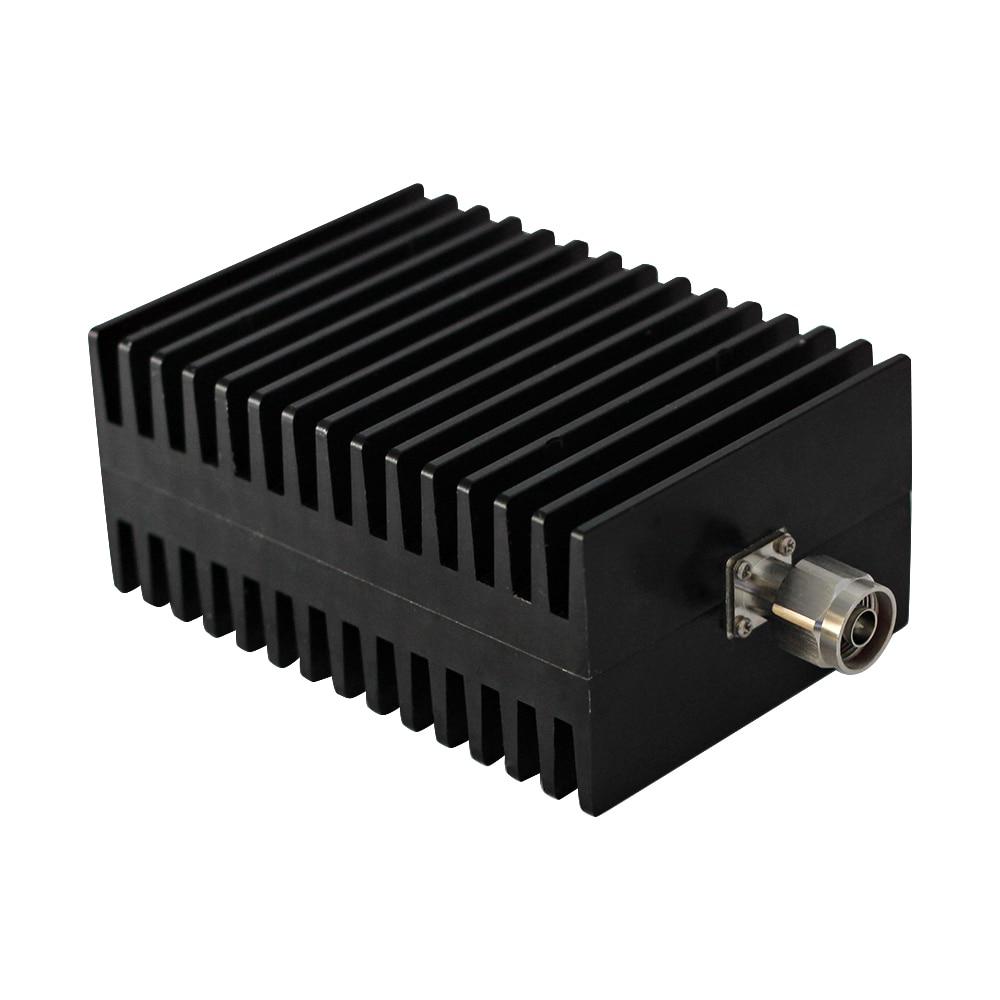 100W N-JK coaxial fixed attenuator,DC to 3GHz, DC to 4GHz ,50 ohm ,1dB,3dB,5dB,6dB,10dB,15dB,20dB,30dB,40dB,50dB,free shopping n male to n female attenuator dc 3ghz 50w watt 30db coaxial power with heat sink attenuator free shipping