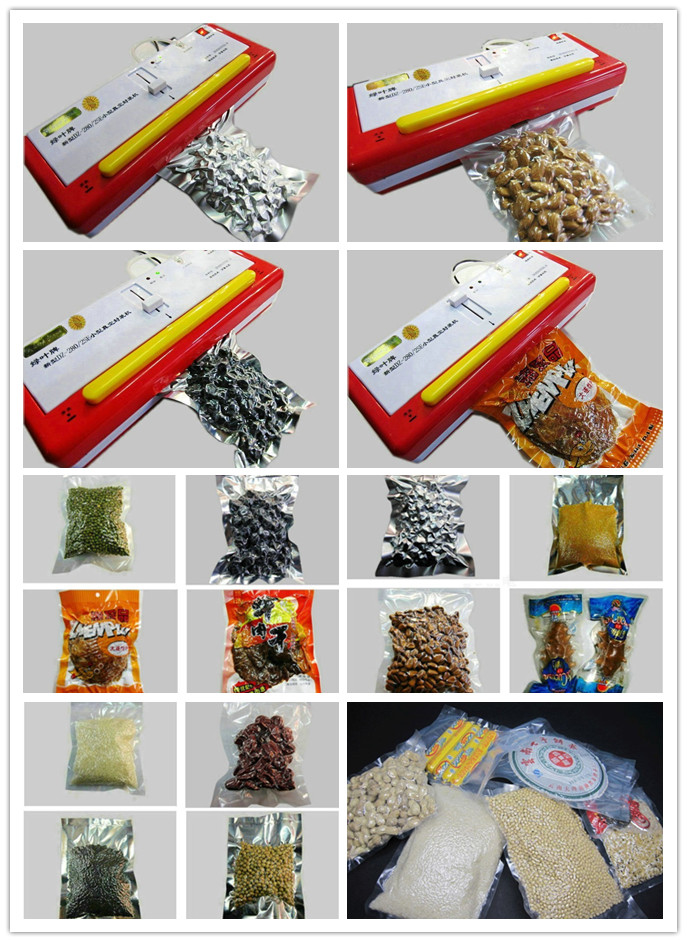 220V/110V SINBO DZ-280/SE Mini Vacuum Food Sealer Plastic Bag Sealing Kit Machine Home dry or wet environment avaible 220v 110v sinbo household plasitc bag food vacuum sealing sealer machine dz 280 2se dry or wet environment avaible