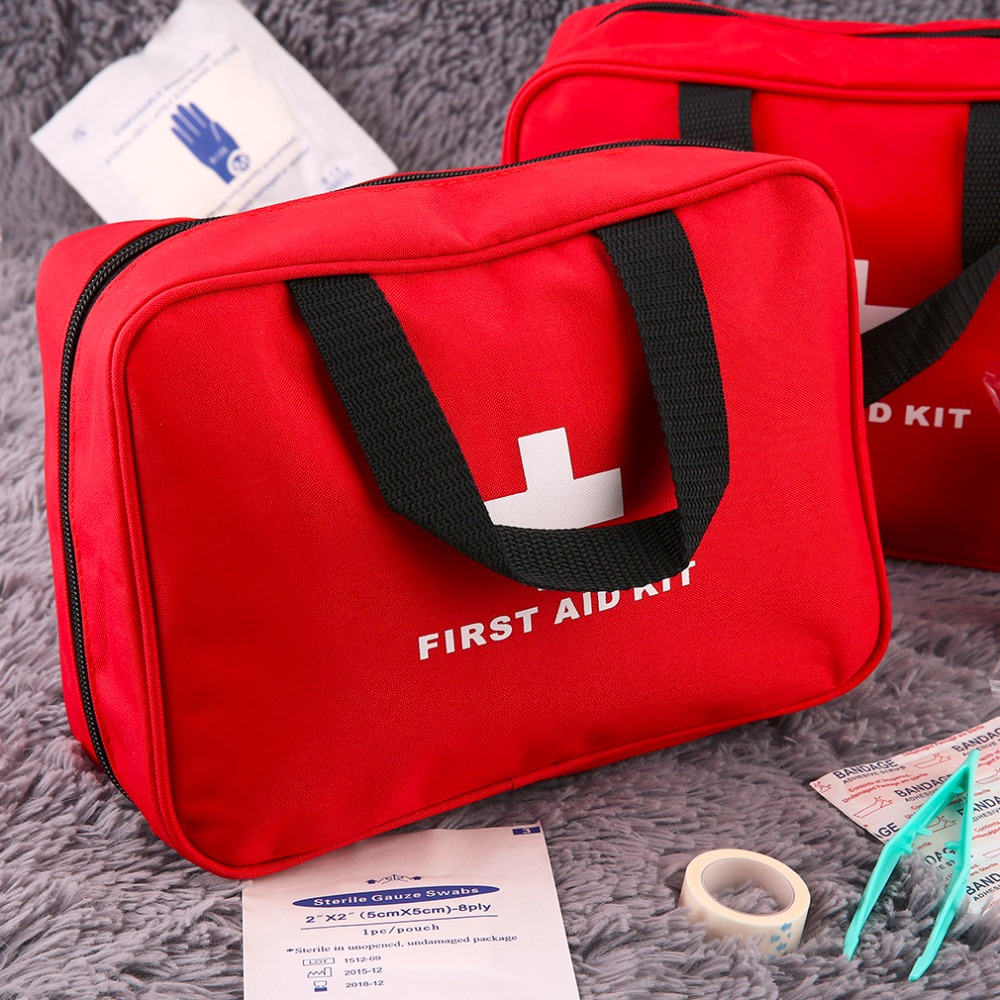 First Aid Kit Outdoor Sports Camping Home Medical Emergency Survival First Aid Kit Bag Rescue Medical Tools portable first aid bag kit pouch home office medical emergency travel rescue case medical package outdoor wilderness survival