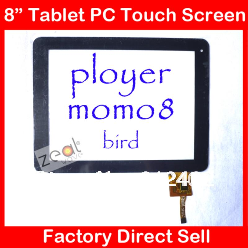 8 inch Touch Screen for Ployer Momo8 Bird Tablet pc Digitizer Glass Touch Panel Replacement 300