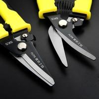 2pcs Chrome Vanadium Alloy Steel Electrician Scissor Cable Cutter Wire Thin Sheet Metal Cut Tool