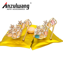 ANZULWANG High Heels Fashion Style Car Styling Air Freshener Car Air Conditioning Vents Decor Car Air Outlet Perfume