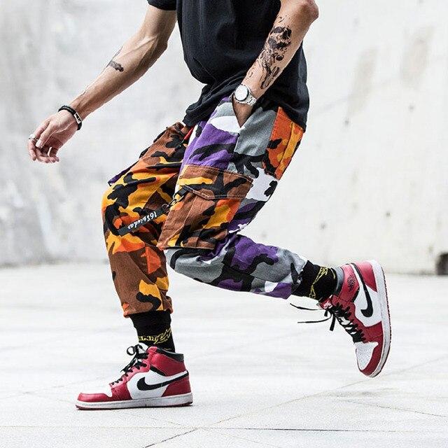 New Joggers Cargo Pants Men Streetwear Camouflage Fashions Hip Hip Korean Trousers Casual Plus Size Cp Pants Pantalones Hombre 34