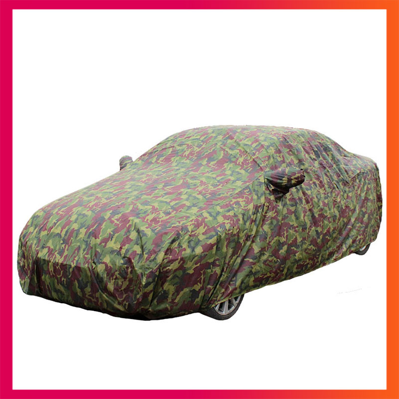 car covers for car waterproof car cover sunscreen auto covers rain snow Uv protection dust proof Camouflage suv sedan hatchback