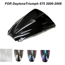 Motorcycle Windscreen Windshield Screws Bolts Accessories For Triumph Daytona 675 2006 2007 2008 Iridium Wind Deflectors