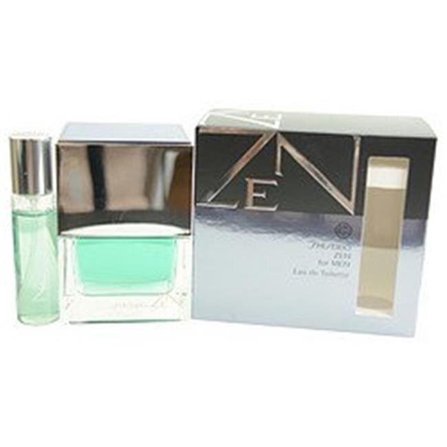 Shiseido 285984 Zen New Eau De Toilette Spray & Eau De Toilette Spray Mini - 0.5 & 3.3 oz цена